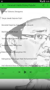 Ceramah Habib Rizieq Populer Screenshot
