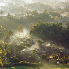 Morning Glory by Edi Wibowo - Landscapes Mountains & Hills