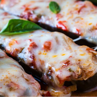 Healthy Stuffed Eggplant