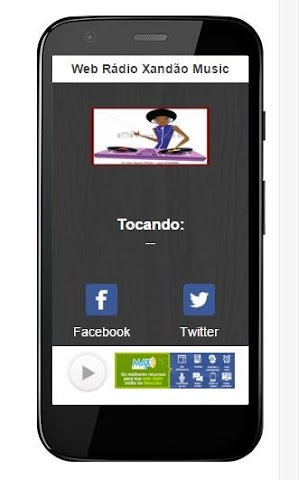 android Web Rádio Xandão Music Screenshot 0