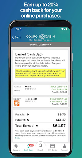2020 Couponcabin Coupons Cashback Android App Download Latest