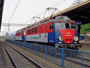Photo: EP07P-2002 & EP07P-2003, Toruń Główny - Poznań Główny {Toruń Główny; 2014-07-19}