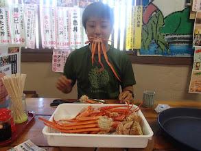 Photo: カニ食べ放題1000円!!!