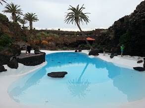 Photo: this is arts, not nature. jameos del aqua / lanzarote