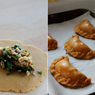 Spicy Tempeh Empanadas + Doing Something