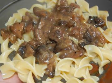 Crock-pot Beef And Mushrooms Recipe