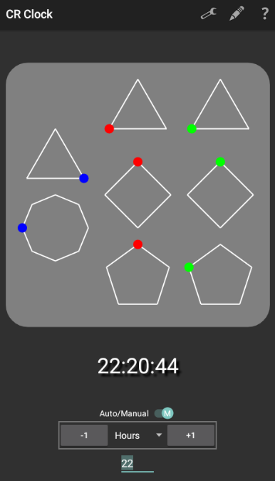 Chinese Remainder Clock- screenshot