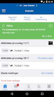 Meldeboka for Trondheim- screenshot thumbnail