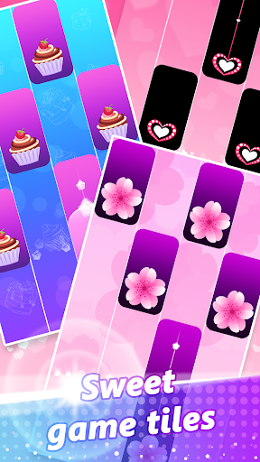 Piano Pink Tiles: Free Music Game screenshot 4