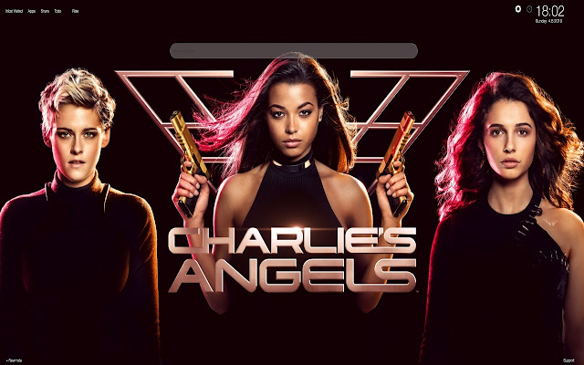 Charlie's Angels 2019 Wallpapers Tab