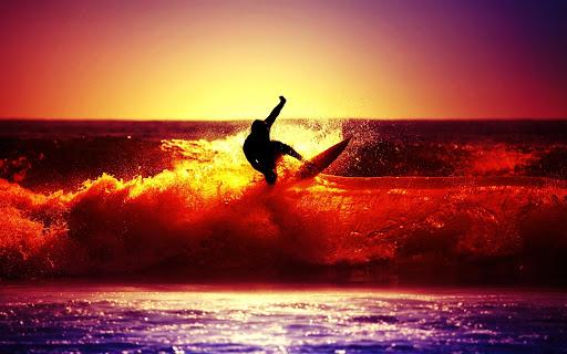 Surf Live Wallpaper