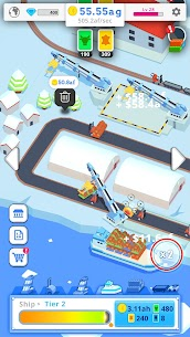 Idle Port Tycoon Mod Apk Download For Android and Iphone 4