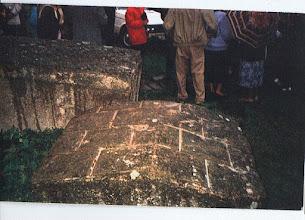 Photo: 04 Fragment zniszczonego pomnika niepodległości, 1992. Fot. Stanisława Czyżewska, nadesłała Waleria Nowakowska.