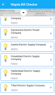 Roshan Pakistan Electricity Bill Checker - náhled