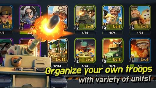 Code Triche World War Arena APK MOD screenshots 5