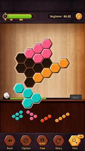 Wood Block Puzzle Hexa - náhled