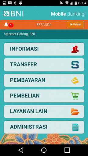 BNI Mobile Banking  screenshots 1
