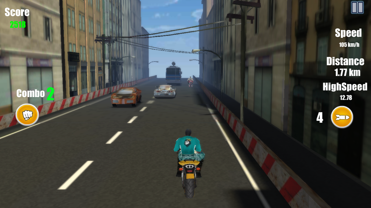 Big Tom's Motorcycle Ride- screenshot
