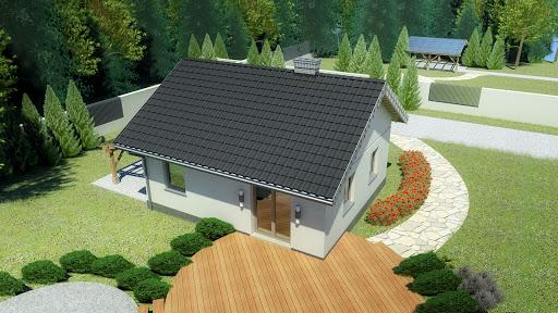 projekt Dom przy Topolowej 2