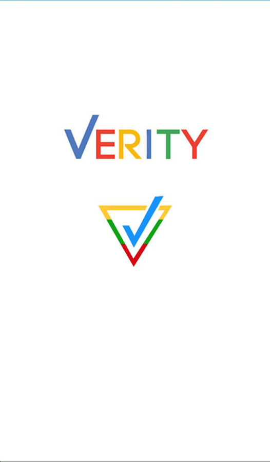 Verity Scanning- screenshot