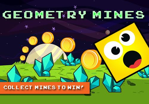 Geometry Mines: Galaxy Surfers