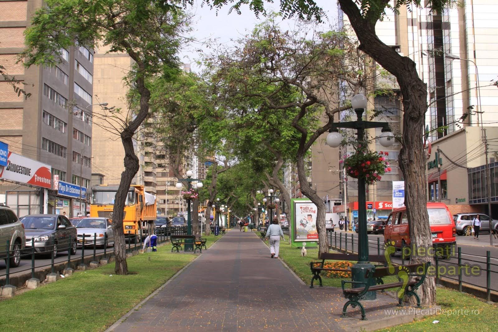 alee din zona centrala a orasului Lima, capitala Peru