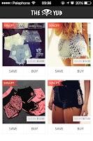 Screenshot of THE YUB - Fashion Shopping
