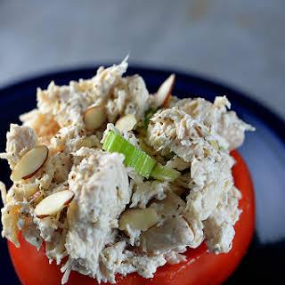 Chicken Salad Stuffed Tomatoes.