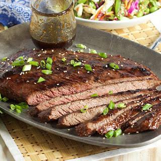Five Spice Teriyaki Flank Steak
