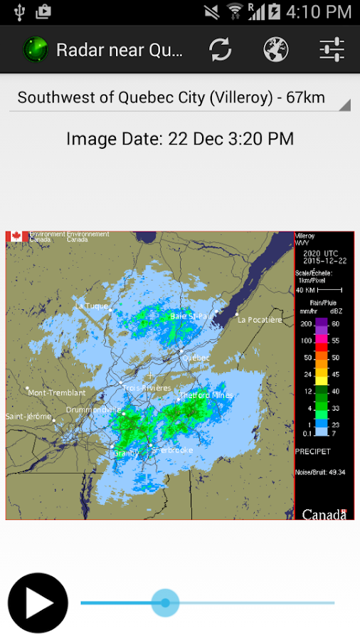 Canada Weather & Radar- screenshot