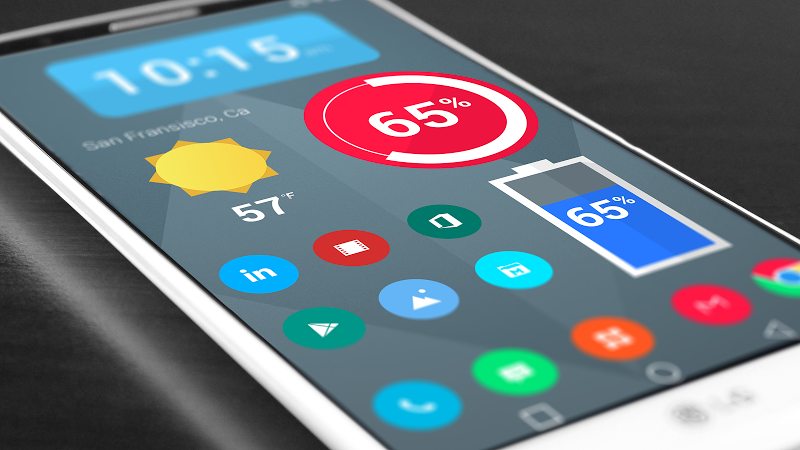 Material Things - Colorful Icon Pack (Pro Version) Screenshot 16