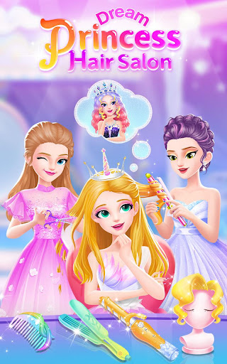 Princess Dream Hair Salon screenshot 1
