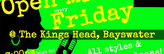 UK Open Mic @ King's Head in Bayswater / Queensway on 2019-08-23