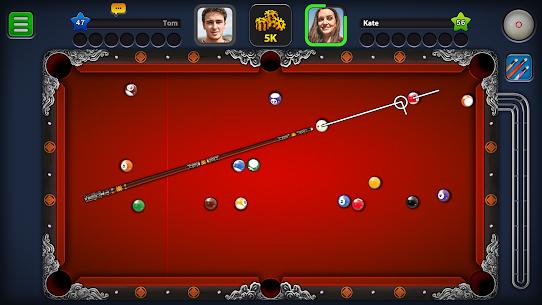 8 Ball Pool MOD Apk 4.9.1 (Long Lines) 2