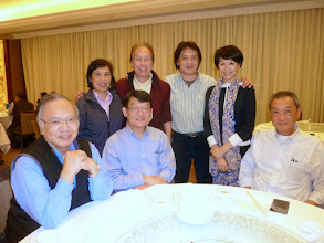Photo: Lunch at the Hong Kong Jockey Club in Happy Valley. Yeung Lai, Siu Chu, Ronald Law Wing, Remus & Jenny, Nick & Anna