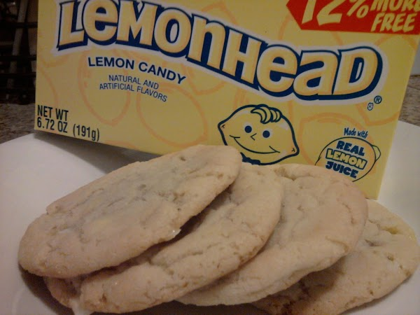 Lemonhead Cookies Recipe