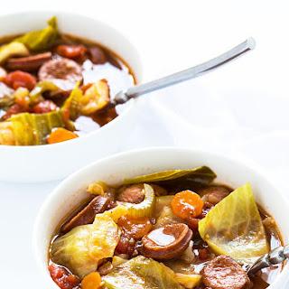 Smoked Sausage Cabbage Soup Recipes.