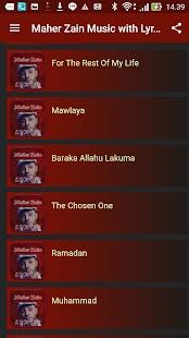 Maher Zain Musics with Lyrics - AppRecs