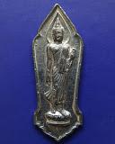 4.พระลีลา 25 พุทธศตวรรษ เนื้อชิน มีเข็ม