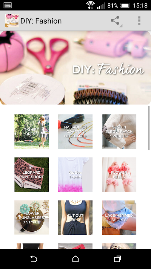 DIY: Fashion- screenshot
