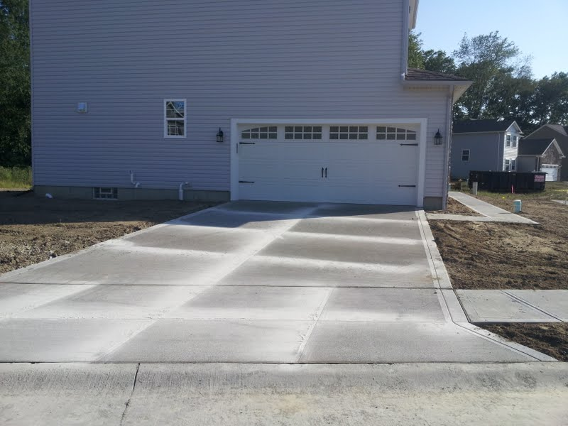 Photo: side entry carriage style garage