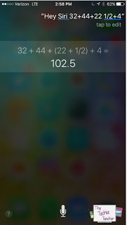 Use Siri for all kinds of mathematical calculations