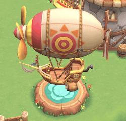 飛行船レース