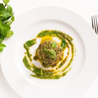 Artichokes With Mint Pesto