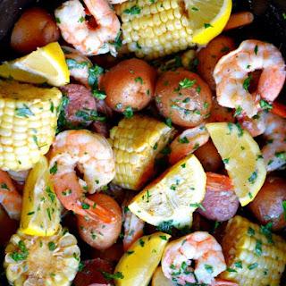 Slow Cooker Shrimp Boil.