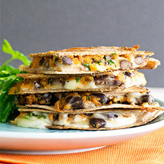 Sweet Potato & Black Bean Quesadillas
