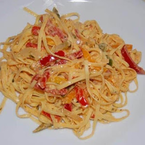 Linquine with Peppers