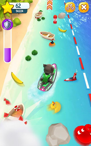 Talking Tom Jetski screenshot 6