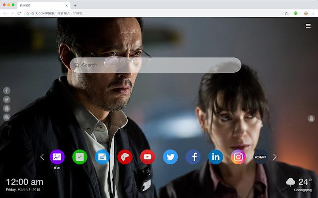 哥斯拉 火爆电影 新标签页 高清壁纸 主题