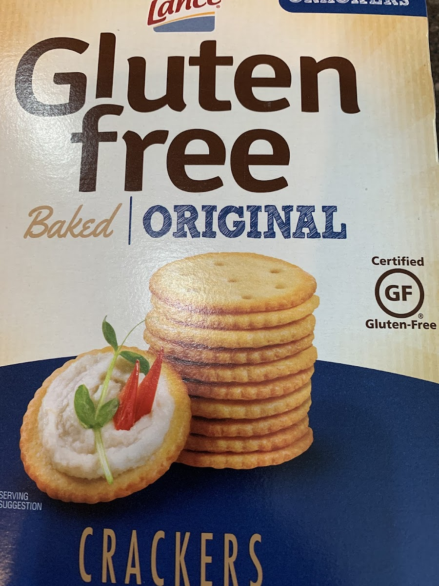 Gluten Free Original Crackers